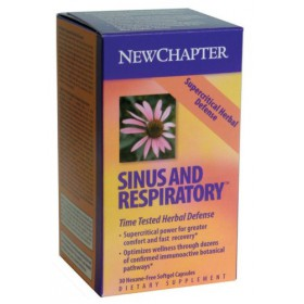 New Chapter Supercritical Sinus & Respiratory, 30 Softgels