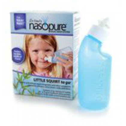 Nasopure New Neti Pot Nasal Wash with 8 oz bottle
