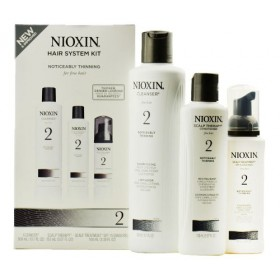 Nioxin System 2 Starter Kit Cleanser, Scalp Therapy & Scalp Treatment 1 set