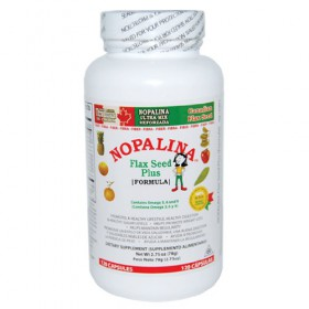 Nopalina Flaxseed Plus Dietary Supplements - 120 Caps