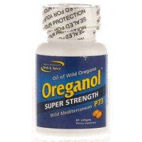 North American Herb & Spice Super Strength Oreganol P73 60 size