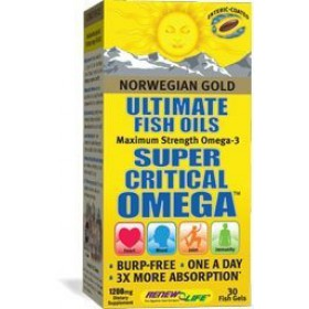 Norwegian Gold Super Critical Omega 30 Softgels