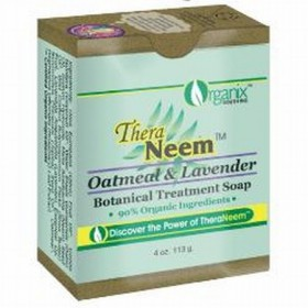 Theraneem Oatmeal Lavender and Neem 4oz soap