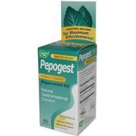 Pepogest Peppermint Oil 0.2 ml 60 Softgels