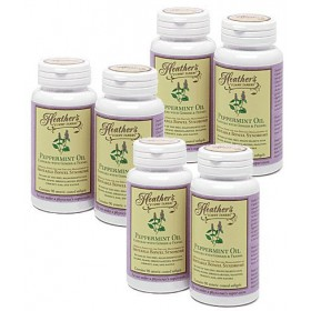 Peppermint Oil Capsules BULK KIT (6 bottles) for Irritable Bowel Syndrome ~ Heather's Tummy Tamers