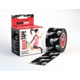 Rocktape Kinesiology Tape for Athletes (Skull, 2-Inch x 16.4-Feet)