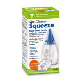 SinuCleanse Squeeze Nasal Wash Kit(includes 30 salt packets)
