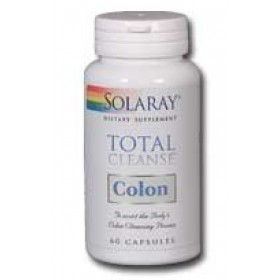 Solaray Total Cleanse Colon, 60 capsules