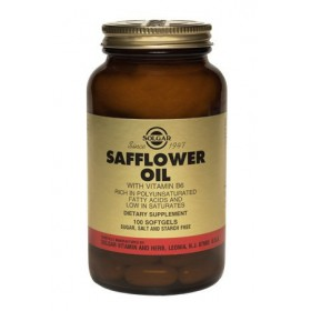 Solgar Safflower Oil with Vitamin B6, 100 softgels