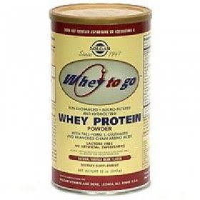 Solgar Whey Protein Powder Natural Vanilla Flavor, 32oz