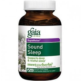 Gaia Herbs Sound Sleep 60 Capsules