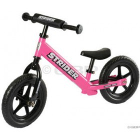 Strider No Pedal Balance Bike - Pink