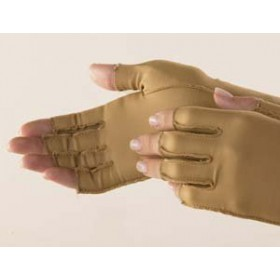 Isotoner Therapeutic Open-Finger Gloves Extra small
