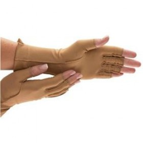 Isotoner Therapeutic Open-Finger Gloves Medium