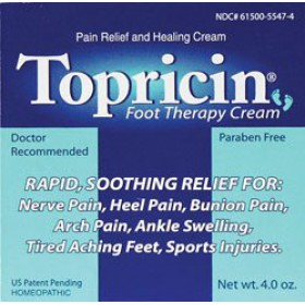 Topricin Foot Therapy, 4 oz