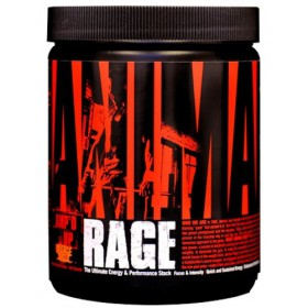 Universal Nutrition Animal Rage Orange Juiced, 333 grams