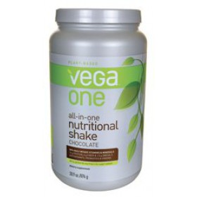 Vega One Nutritional Shake, Chocolate, 30 oz