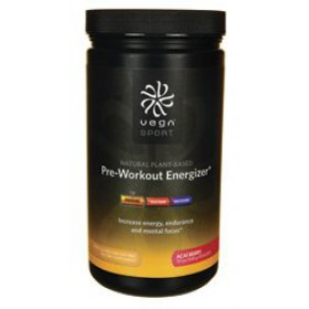 Vega Sport Pre-Workout Energizer Acai Berry 19oz