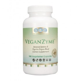 VeganZyme, Vegan Systemic & Digestive Enzyme Blend, 180-Count