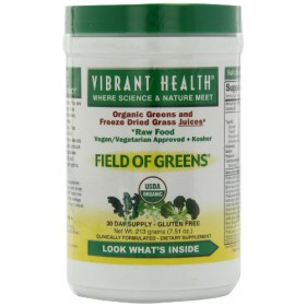 Vibrant Health Organic Field of Greens 7.5oz