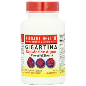 Vibrant Health Gigartina Red Marine Algae 250mg 120 caps