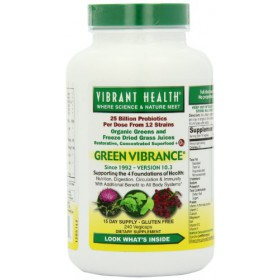 Vibrant Health Green Vibrance 240 Vegicaps