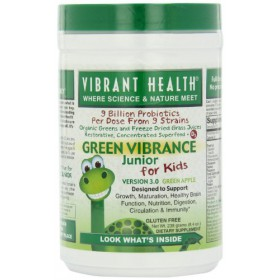 Vibrant Health Green Vibrance Junior, Green Apple 238gm