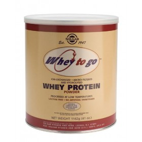 Solgar Whey To Go Whey Protein Chocolate, 41oz